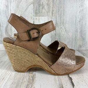 ERIC MICHAEL LEATHER WEDGE
